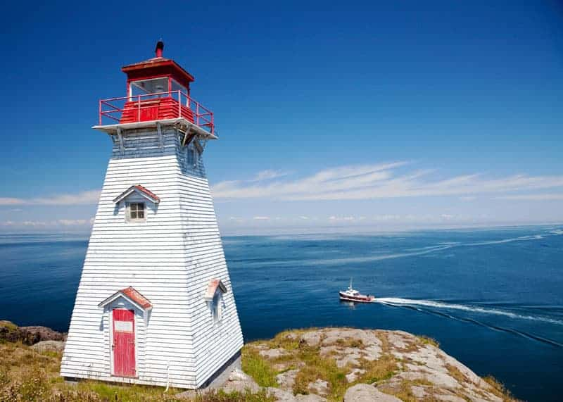 Boars Head Lighthouse NovaScotia