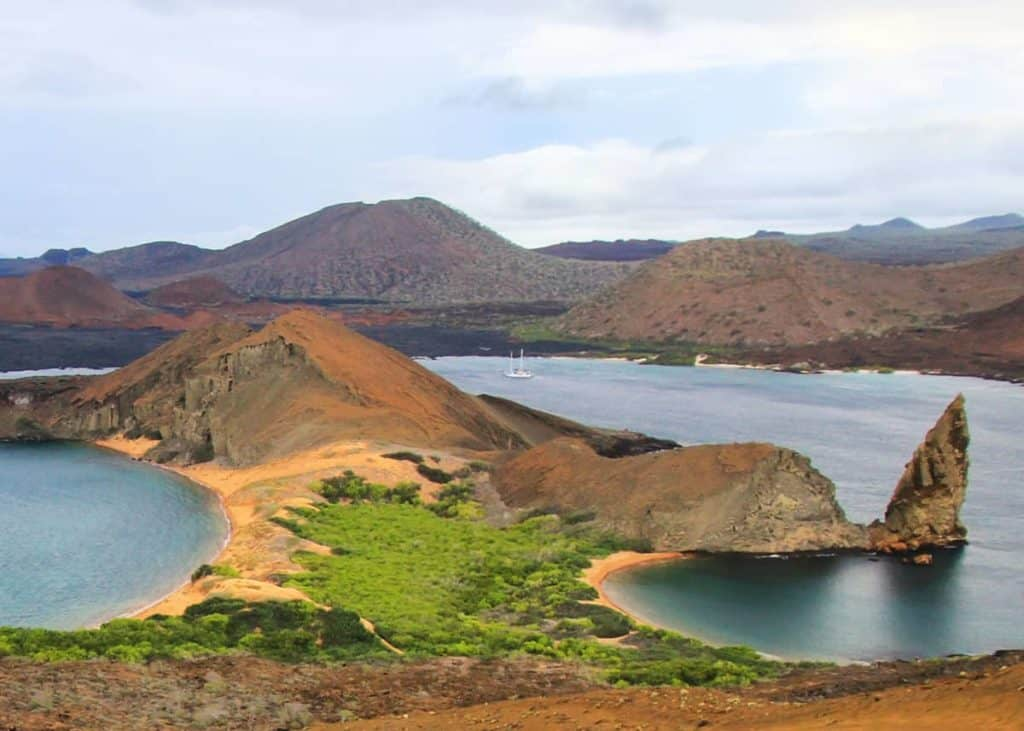 are the Galapagos Islands in South America